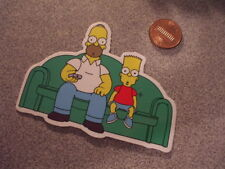 COUCH SIMPSONS GLOSSY Sticker /Decal NEW