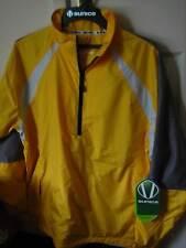 Sunice Typhoon Breathable Waterproof Golf/Cycle 1/4 Zip Jacket Bright Yellow M