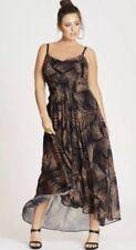 City Chic Sz L/20 Party Time Maxi Dress