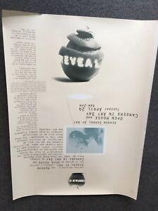 Vintage Indiana University. Herron School Of Art. Careers In Art 18x24 Poster.91