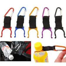 3X Water Bottle Holder Clip Carabiner Buckle Key Chain For Hiking Camping Travel