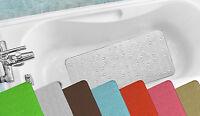 Antibacterial Cushioned Waffle Non slip PVC Foam Bath Tub Mat