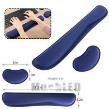 Memory Foam Keyboard Silica Gel Mouse Pad and Wrist Rest Pad with Wrist Support