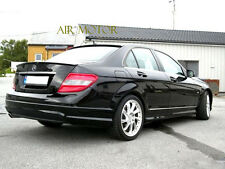 Color 040 Black 08-14 BENZ W204 C300 C350 Sedan AMG-Type Trunk + OE Roof Spoiler