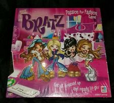 Bratz Passion For Fashion Board Game Fashions Games New & Factory Sealed!