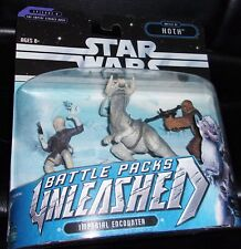 2006 STAR WARS.UNLEASHED BATTLE PACK.THE EMPIRE STRIKES BACK.EP.V BATTLE OF HOTH
