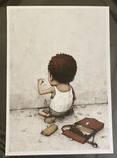 Dran Show Postcard Mini Print