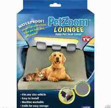 PetZoom Loungee Car Seat Pet Cover For Pets Cats & Dogs Animals