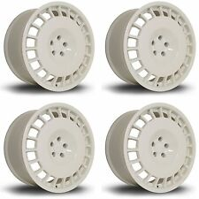 4 x Rota D154 White Alloy Wheels - 18x8.5"