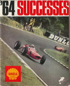 Shell Successes 1964 Racing Rally Motorcycle Trials Surtees Stewart