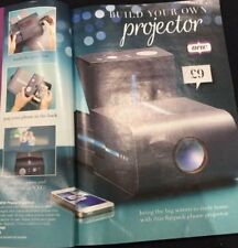 CARDBOARD PHONE  CARDBOARD PROJECTOR COMPLETE WITH LENS BY AVON