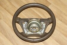 MERCEDES S CLASS W140 STEERING WHEEL LEATHER BROWN
