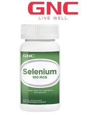 GNC Slenium 100 Vegetarian Tablets 100mcg