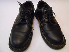 Born Men Casual Lace Up Leather Shoes Size 10 Black