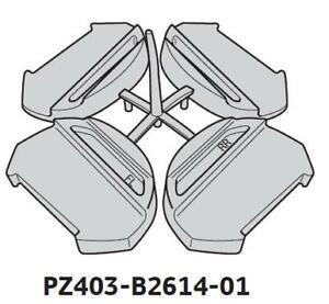 Genuine Toyota Yaris 2011-2020 5DR Roof Rack Feet PZ403-B2614-01