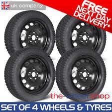 "16"" Vauxhall Astra - 2004 - 09 Steel Wheels & Goodyear Ultragrip 9 Winter Tyres"