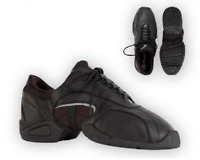 Black Capezio Tekno-low DS22 split sole dance sneakers - UK 4.5