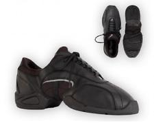 Black Capezio Tekno-low DS22 split sole dance sneakers - UK 3.5