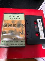 R.E.M. Green  Michael 1352 Cassette Tape Rare