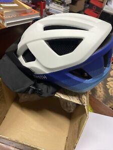 Smith Session Large Matte White Klein Fade Bicycle Cycling Helmet