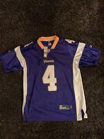 Minnesota Vikings Brett Favre Purple Reebok NFL Jersey Size 48 NEW