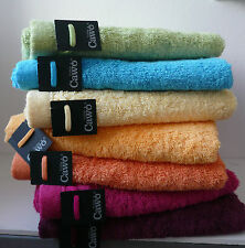 CAWÖ Lifestyle Uni . Handtuch, Duschtuch, Badetuch, Duschvorlage, 27 Farben, NEU