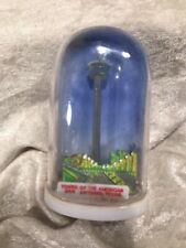 Vintage Plastic Snowdome Globe Tower Of The Americas