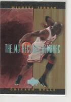 MICHAEL JORDAN 1999 UPPER DECK HARDCOURT #J2 MJ RECORDS ALMANAC FOIL INSERT!