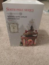 Dept 56 North Pole Village North Pole 40Th Anniversary Gazebo Nib *Sealed*
