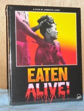 Eaten Alive (Blu-ray/CD, 2018, 2-Disc, Limited Edition) NEW cannibal classic