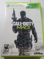 Call Of Duty Modern Warfare 3 Xbox 360 Video Game Complete With Manual