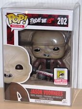FUNKO POP 2015 SDCC FRIDAY THE 13th UNMASKED JASON VOORHEES #202 LE1008 In Stock