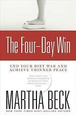 The Four (4) Day Win Diet paperback by Martha Beck FREE SHIPPING weight-loss