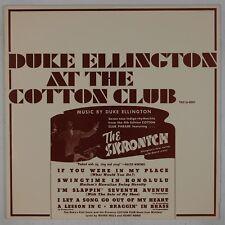 DUKE ELLINGTON: At the Cotton Club ,Skronitch TAX Vinyl LP Jazz NM Johnny Hodges