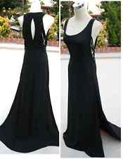 NWT MAX AZRIA $648 BLACK Pageant Prom Evening Gown XXS