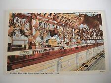 Vintage Color P/C of Texas- Famous Buckhorn Curio Store, San Antonio TX