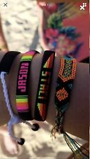 Tribal Friendship Handwoven Bracelet PICK YOUR COLORS AND NAME!!