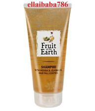 Fruit of the Earth Hair Fall Control Shampoo With Henna & Jojoba Oil - 200 ML
