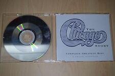 Chicago ‎– The Chicago Story: Complete Greatest Hits. PRO3417 CD-Single promo