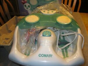 Conair Whirlpool Massaging Foot Spa Model FB23RW Body Benefits Loofah pre-owned