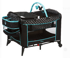 Mickey Mouse Baby Bassinet Play Yard Portable All-in-One Nursery Organizer New