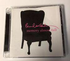 Paul McCartney CD Memory Almost Full