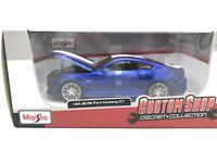 Ford Mustang GT 2015 - blau - 1:24 MAISTO Custom Shop  >>>>SALE<<<<<<<