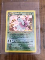 Meganium 1st Edition 10/111 Pokemon Neo Genesis! Near Mint/ Mint! Look!!