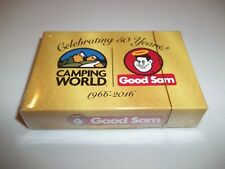 Poker Playing Cards Mini Traveling Decks Cards 2 Pack camping World & Good Sam