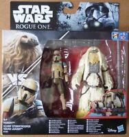 STAR WARS - Rogue One - Moroff VS Scarif Stormtrooper Squad Leader- HASBRO -NEUF