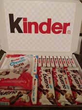 LARGE KINDER CHOCOLATE SWEET GIFT BOX HAMPER XMAS  PRESENT  PERSONALISED