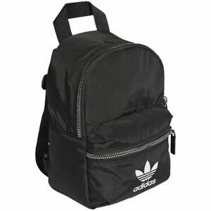 New adidas Mini Backpack Black Small Bag Women's Kids ED5869 100%LEGIT Rare