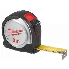 MILWAUKEE 4932451640 8 METRO COMPACT Tape Measure ARGENTO C8 / 25 8m Metrico NUOVO