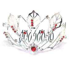 Red Wedding Tiaras and Headbands